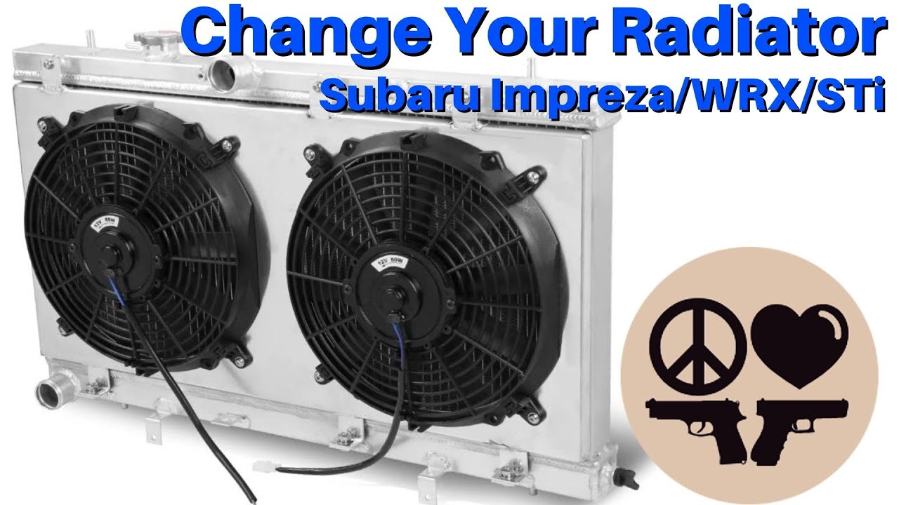 How To Change your Subaru Radiator! and Fan Assembly