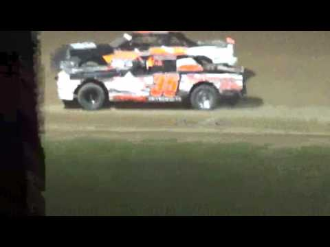 Street Stock Feature Luxemburg Speedway Luxemburg Wisconsin 5/12/17