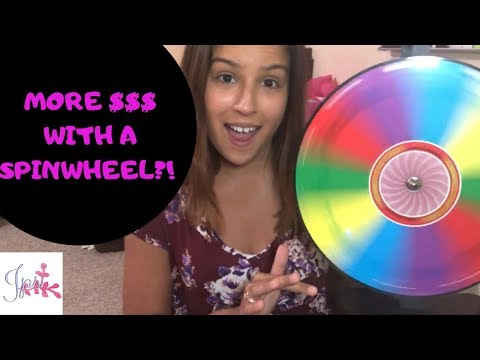 Book More Direct Sales Parties With A Spinwheel! And get more ORDERS TOO!