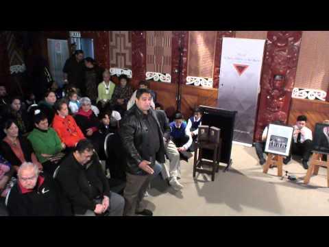 Powhiri - Te Wiki o te Reo Maori Launch