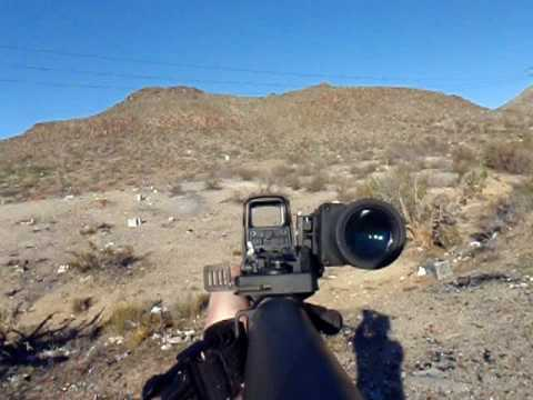 First Person Shooter Cam Eotech 552 And Replica Eotech 4x