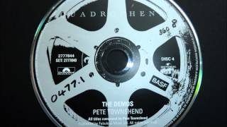 Pete Townshend & The Who - Doctor Jimmy (Demo) - Quadrophenia Director