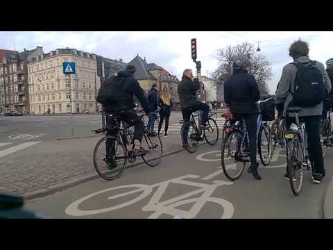 Copenhagen Cycling: Amager Commons to The Black Square
