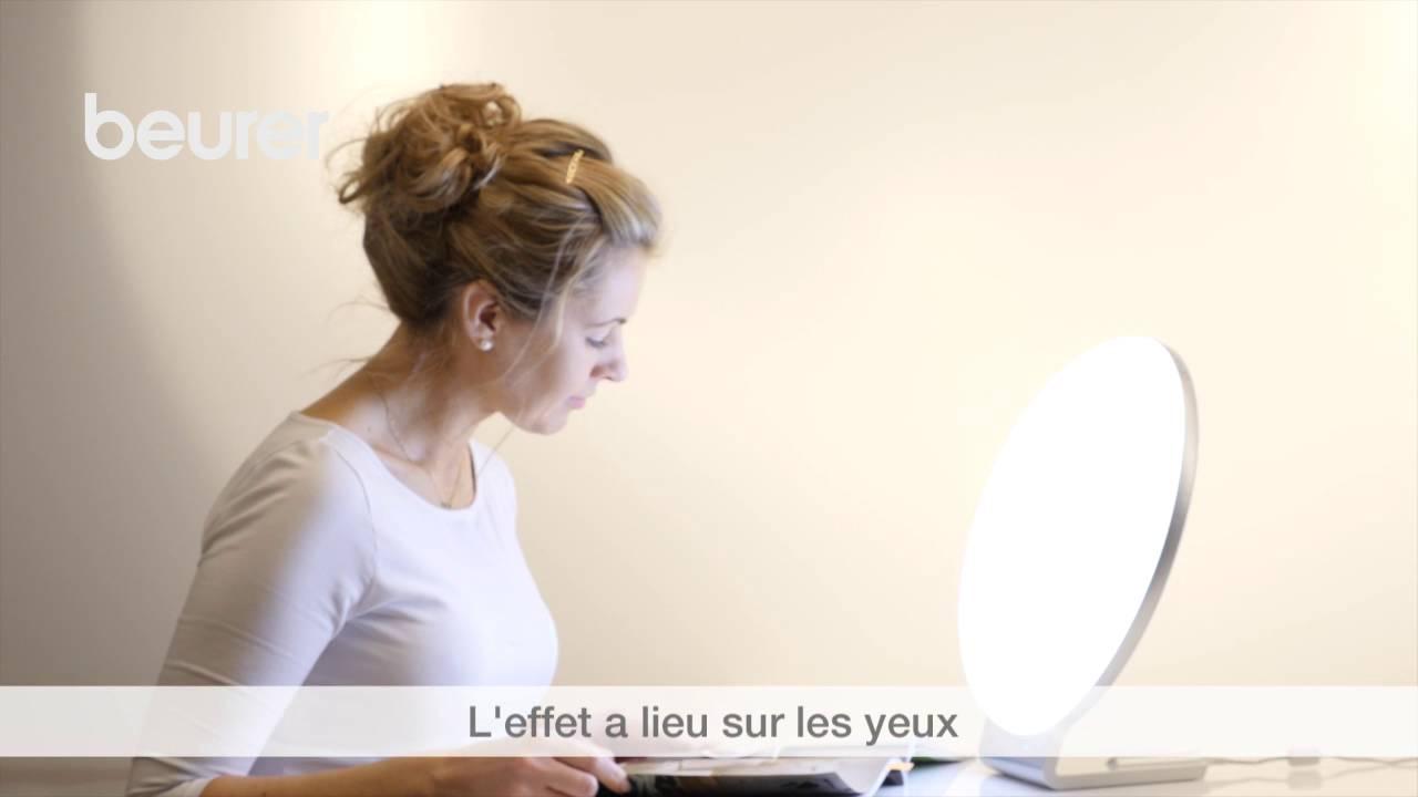 Lampe De Luminotherapie 2 En 1 Tl 100 De Beurer Youtube