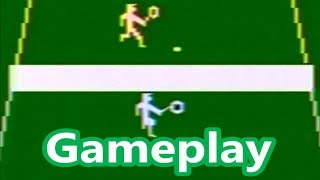 Activision Tennis Atari 2600 Gameplay
