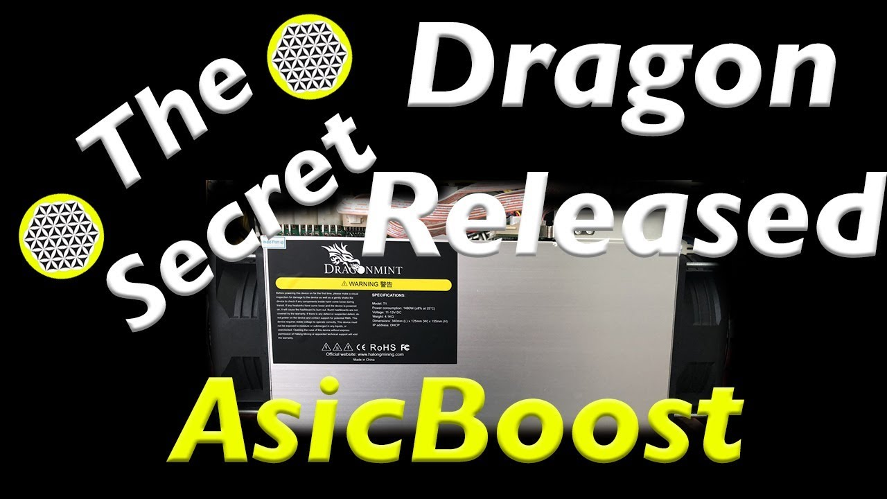 Dragonmint T1 16ths Halong mining with AsicBoost Review New bitcoin Asic  mining hardware 2018 REAL!