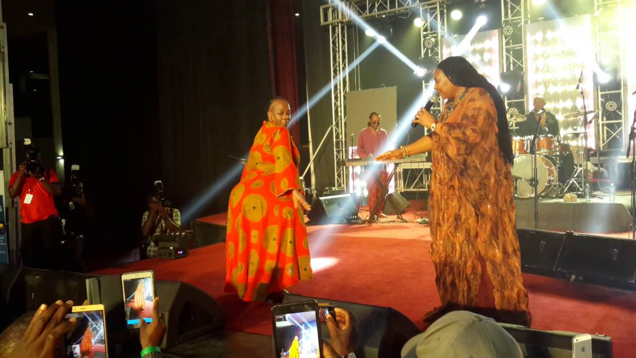 Yvonne Chakachaka Brings Woman With Big Butt On Stage In Ghana