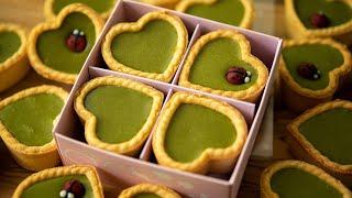 バレンタインチョコ簡単大量生産「四つ葉のクローバー抹茶生チョコ」