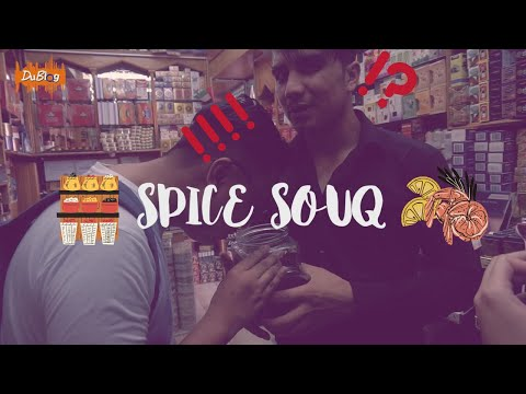 A spice to make you?! Day off at Dubai Spice Souk.