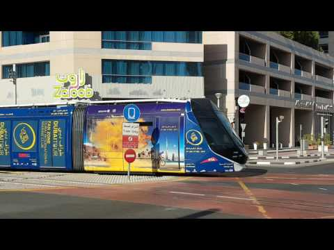 Arabian Outdoor,  Dubai Trams Branding, Dubai Tour Campaign
