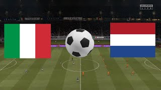 FIFA 21 Italy vs Netherlands UEFA Nations League 2020 21 Full Match Gameplay