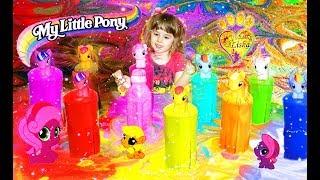 ЦВеТнаЯ Зубная Паста Для СЛОНА с ПоНЯшКАми МУЛЬТИК Мой Маленький ПОНИ My Little Pony