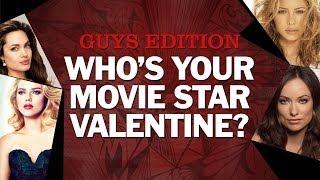 Who Is Your Movie Star Valentine? - Guys Edition (2014) Celebrity Quiz HD
