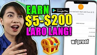 Earn $5 - $200 With This Easy Game | Paypal Money For Free | Lucky Fishing Honest Review