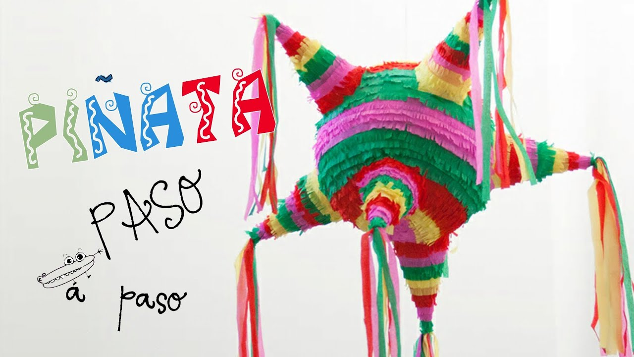 Piñata mexicana - YouTube