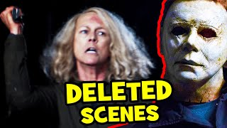 Halloween's ALTERNATE ENDING + DELETED SCENES You Never Got To See! (2018)