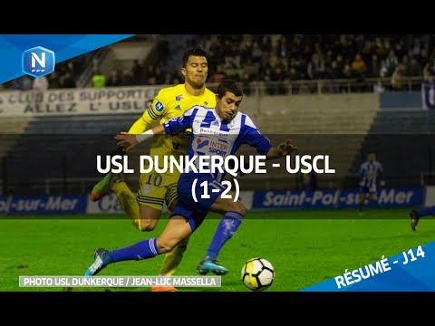 J14  USL Dunkerque  - USCL( 1-2), le résumé