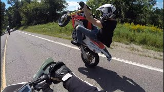 This one time on my motorbike