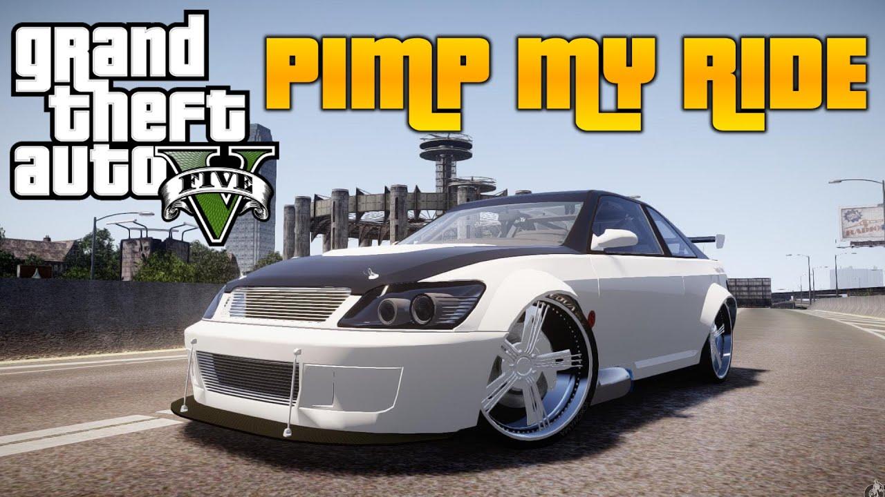 Design my car - Gta V Pimp My Ride 154 Benny S Sultan Rs Car Customization New Update Youtube
