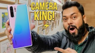 HUAWEI P30 PRO UNBOXING AND FIRST IMPRESSIONS IN HINDI ⚡ ⚡ ⚡ Camera Ho To Aisa 📷 😎