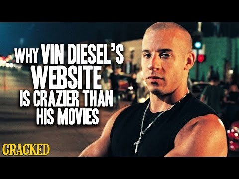 Vin Diesel's Accidentally Brilliant Website