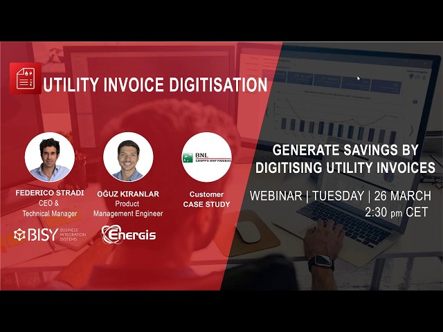 Generate Savings by Digitising Utility Invoices