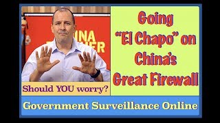 They are WATCHING you - so WHAT? China's Government Surveillance Online