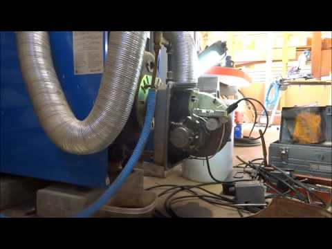 riello oil burner cleaning, rumbling and tripping out on safety