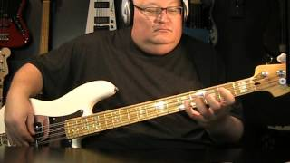 Pat Benatar - We Belong - Bass Cover - with Notes & Tablature