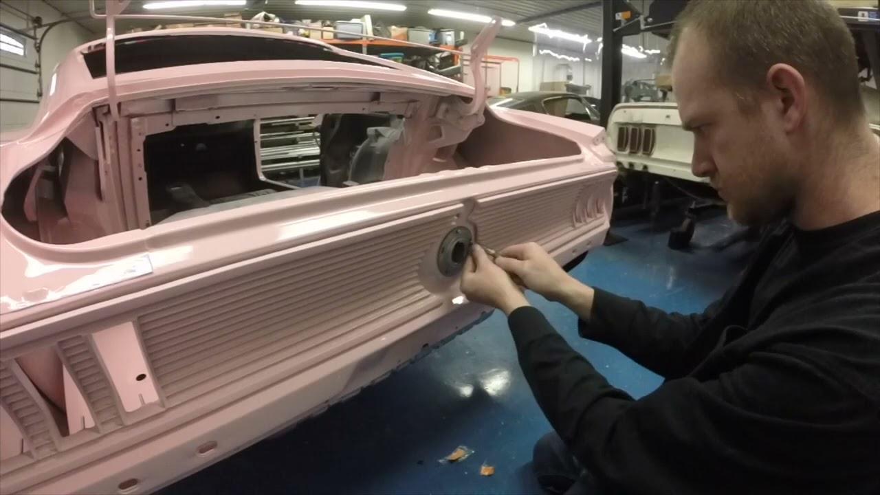 1967 Mustang Fuel Tank Install