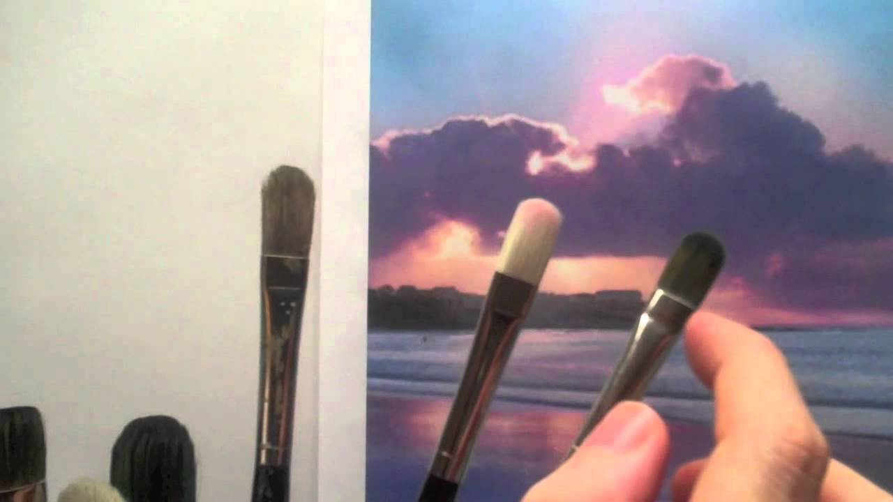 How to choose acrylic paint brushes acrylic painting for Acrylic brush techniques