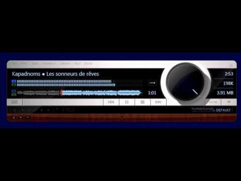 Fidelia Music Player (skin) for Windows PC