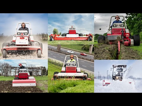The Tractor King Of Versatility - Ventrac 4500 Full Attachment Lineup