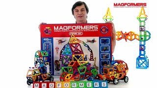 Видеообзор набора Magformers Expert Set