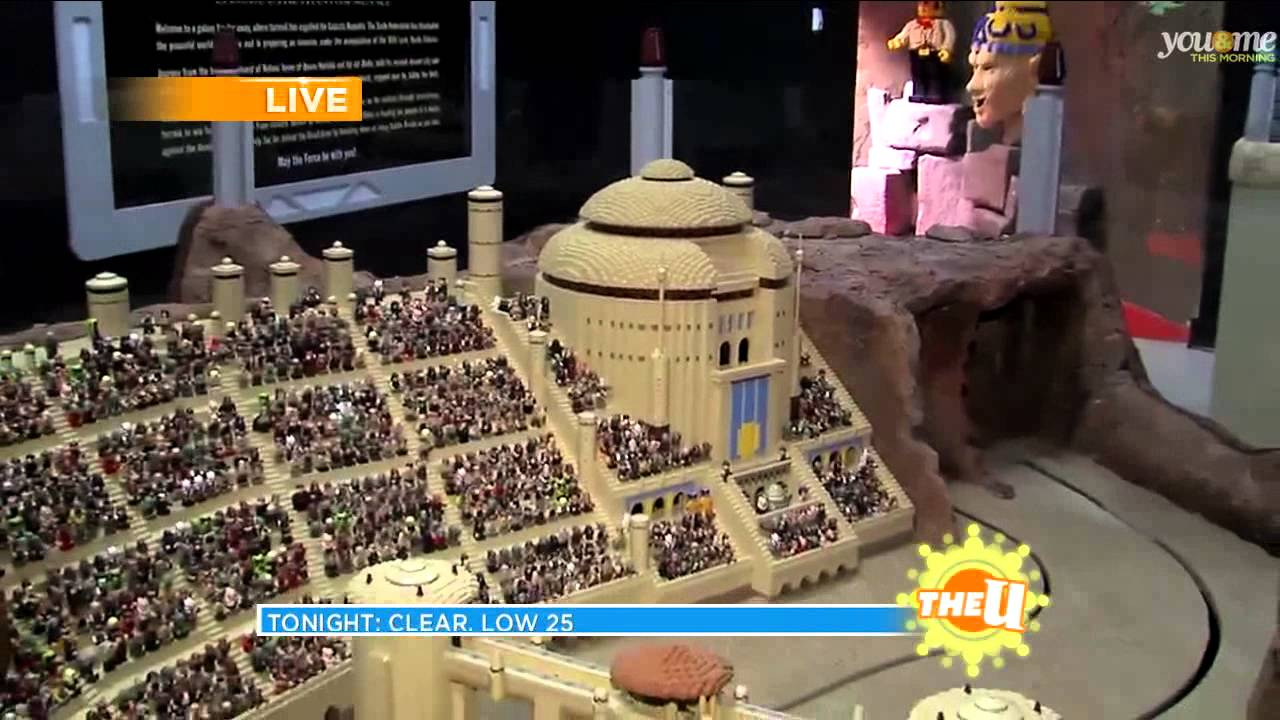 Legoland Opens a New Star Wars Themed Exhibit - YouTube