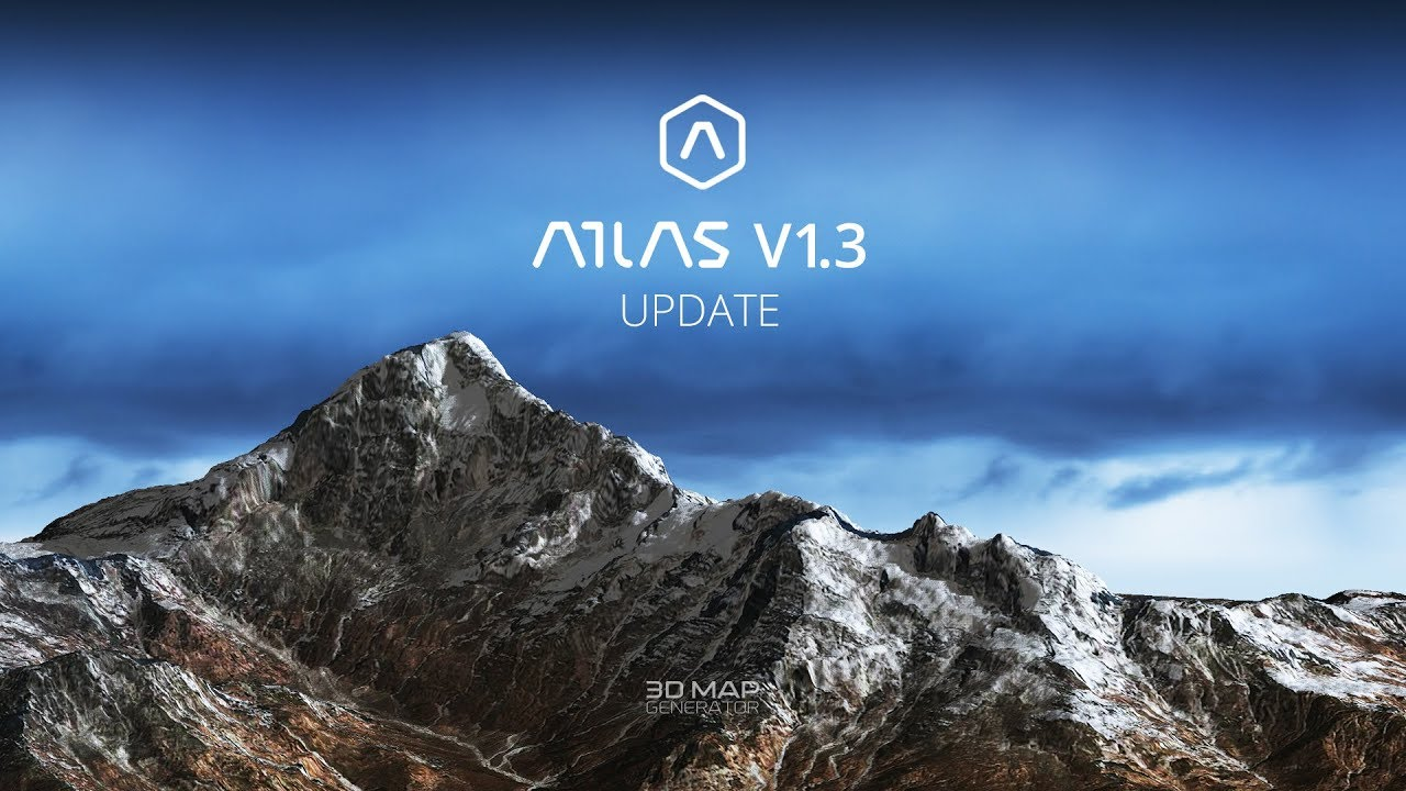 What's new in v1 3 - 3D Map Generator - ATLAS - Photoshop Plugin