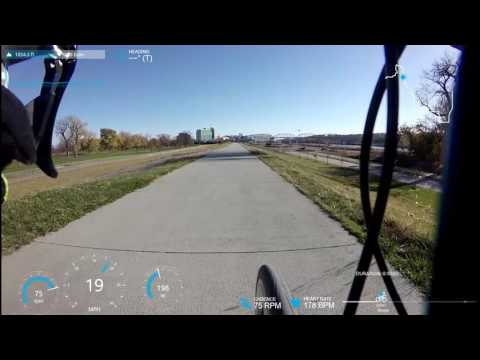 November Cycling in Omaha