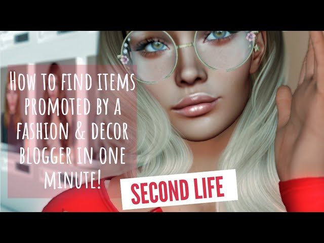 How to find items promoted by a fashion & decor blogger in one minute!
