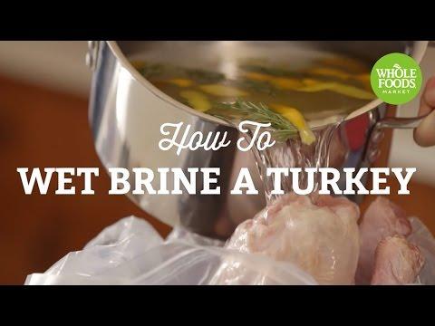 How To Wet Brine Turkey