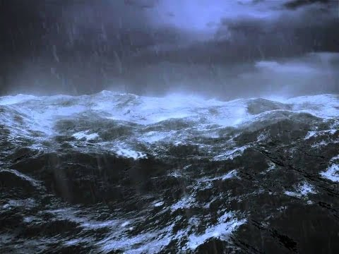 World ship simulator Storm (Tanker  in rough seas)