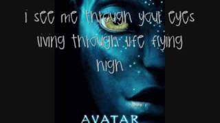 14. I See You - OFFICIAL AVATAR THEME/SOUNDTRACK-- Leona Lewis LyricsOnScreen