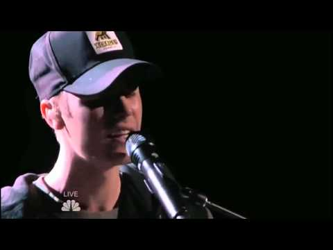 Justin Bieber - Sorry (piano version) live @ The Voice USA | December 2015.