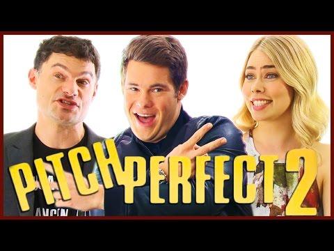Adam DeVine & Flula Talk PITCH PERFECT 2 Characters!