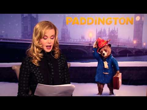 PADDINGTON - 'A Bear Called Paddington' Reading Featurettes - Nicole Kidman