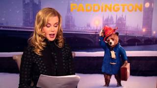 Скачать PADDINGTON A Bear Called Paddington Reading Featurettes Nicole Kidman