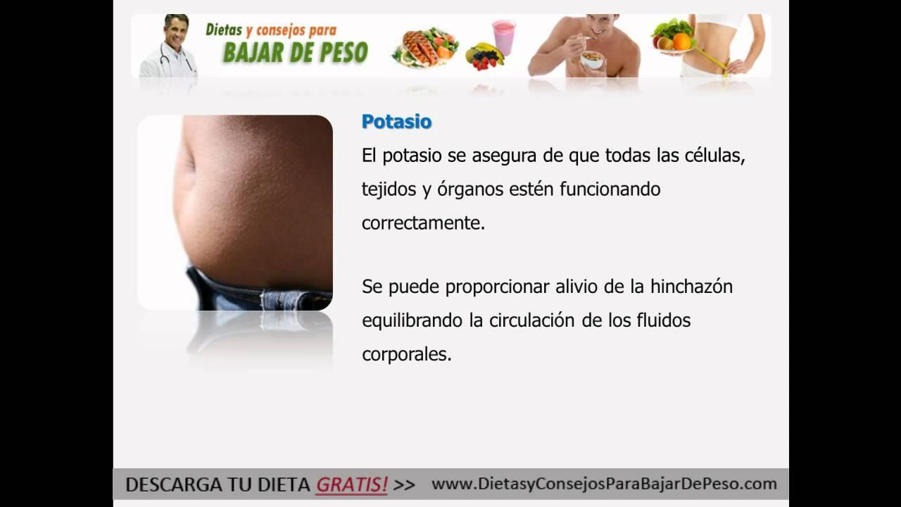 Distension abdominal y perdida de peso