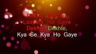 Atif A: Dekhte Dekhte Lyrical | Batti Gul Meter Chalu | Shahid K Shraddha | Nusrat Saab Rochak Manoj