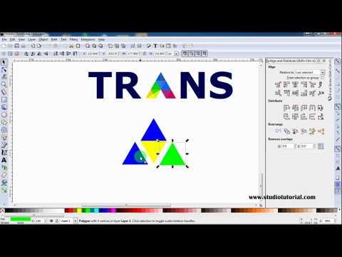Cara membuat logo Padi dan kapas pada corelDRAW x6 (bag 1).