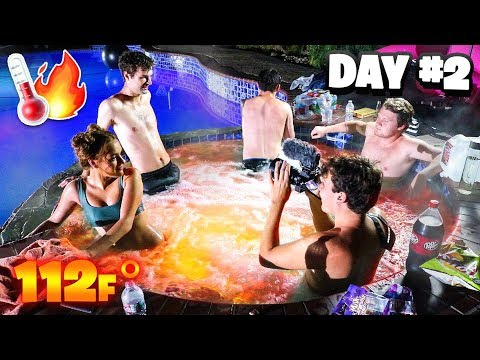 Last To Leave *SCORCHING* Hot Tub Wins $3,000 Challenge