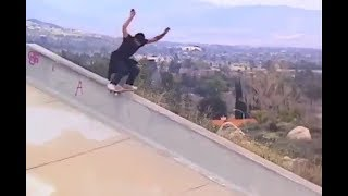 INSTABLAST! - LONG ASS Downhill Ditch Boardslide!! Skating Stairs in HIGH HEELS!! Shuv-It Up A 6 !!